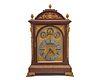 THOMAS KIRKPATRICK Mahogany Gilt Bronze Mounted Bracket Clock, New York
