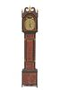 RILEY WHITING Paint Decorated Tall Case Clock, Winchester, Connecticut, early 19th century
