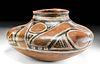 Anasazi Gila Polychrome Jar w/ Geometric Motif