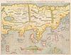 [ASIA] -- MUENSTER, Sebastian (1489-1552). Tavola della Oriental Regione dell'Asia, che Comprende l'Estreme Terre, & Regni di Quella. [Basel, ca 1550]