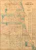 [CHICAGO] --Park & Guide Map of Chicago. Chicago: Jas. Van Vechten, 1873.