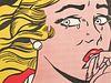 "Roy Lichtenstein ""Crying Girl"" Poster, Signed"