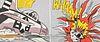 """Roy Lichtenstein """"Whaam!"""" Diptych Poster"""
