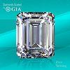 10.02 ct, E/VVS2, Emerald cut GIA Graded Diamond. Unmounted. Appraised Value: $2,571,000