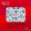 5.01 ct, D/FL, TYPE IIa Radiant cut GIA Graded Diamond. Unmounted. Appraised Value: $1,203,000