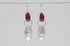 Ruby Bramble Earrings