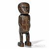Large Massim Hardwood Figure