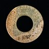 A CHINESE JADE DISC