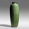 Ruth Erickson for Grueby Faience Company, Exceptional floor vase