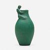 Anna Marie Valentien for Rookwood Pottery, Modeled Mat vase