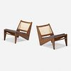 Pierre Jeanneret, Kangourou chairs from Chandigarh, pair