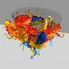 Dale Chihuly, Persian and Horn Chandelier