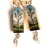 Tree Earrings, Made to Order