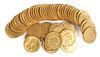 50 France GOLD COINS (20f) 20 Francs