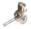 Chinese Sterling Silver Miniature Rickshaw