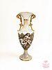 CAPODIMONTE BERNINI Hand Painted Porcelain Vase/Urn