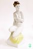 "A Large Hollohaza ""Nude Female on Pedestal"" Figurine"