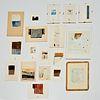 Jean Louis Espilit, (18) collage paintings