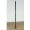 Michael Lekakis (attrib), wood floor sculpture