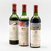Chateau Mouton Rothschild, 3 bottles