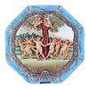 Italian Silver and Enamel Compact