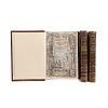 Torquemada, Juan de. Primera, Segunda y Tercera Parte de los Veinte i un Libros Rituales y Monarchia Indiana. Madrid, 1723. Piezas: 3.