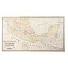 Glümer, Bodo von. Carta de Comunicaciones de los Estados Unidos Mexicanos. Mapa entelado, límites coloreados, 138 x 241 cm.