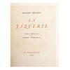 Mérimée, Prosper.  La Jaquerie. La Tradition, 1947. 255 p. Con ilustraciones originales de Lucien Guézennec. Edición de 600 ejempalres.