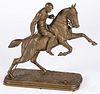 Isidore Bonheur bronze polo player