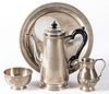Tiffany & Co. sterling silver tea service and tray