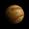 A 1936 World Series Champion New York Yankees Team Signed Baseball, Including Lou Gehrig and Joe DiMaggio (JSA Letter).