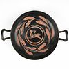 Scarce Greek Xenon Kylix Cup w/ Leaping Hare