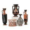Grp: 5 Ancient Greek Pottery Vessels