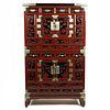 19th c. Korean Lacquered Wooden Bandaji Dresser