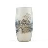 Daum Nancy Windmill Dutch Glass Vase