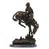 "Frederic Remington ""Outlaw"" Bronze Sculpture"