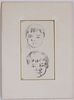 Paul Cezanne, Pencil, Fils de L'Artiste
