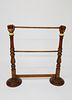 Contemporary Carved and Gilded Quilt Rack