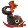 Herend Porcelain Koi Fish Figurine
