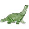 Lalique Crystal Komodo Dragon Figurine