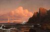 Francis Augustus Silva, Red Sails At Sunset