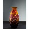 Émile Gallé, Red Phlox Vase