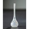 Daum, Miniature Blackbird Vase