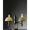 Tiffany Studios, Acorn Double Post Student Lamp