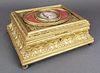 19th C. French Bronze Jewelry Box