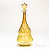 Tiffany Studios Lily Pad Decanter with Stopper
