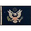 "[ROOSEVELT, Theodore (1858-1919]. Presidential ""Standard"" Flag, Navy Yard, New York. March 1904."