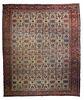 """Antique Persian Farahan Sarouk, 11' x 13'3"""""""