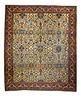 Antique Persian Sarouk Farahan, 11' x 13'