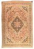 Antique Persian Tabriz, 12'9'' x 19'10''